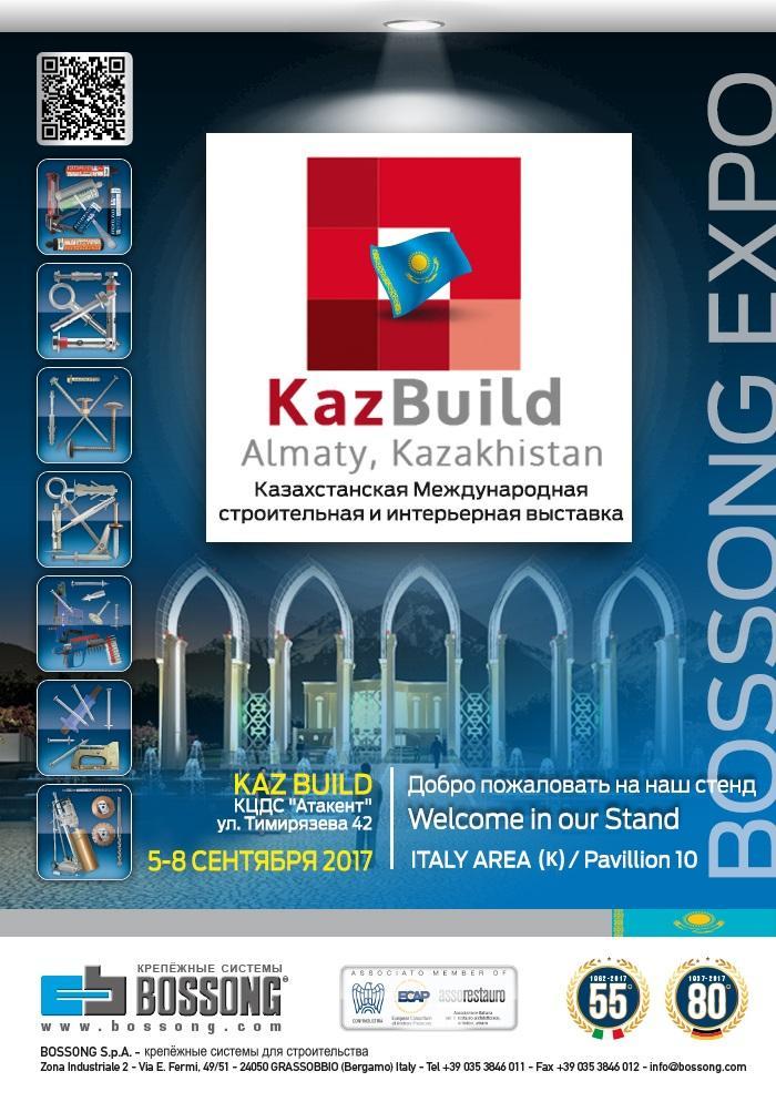 KAZBUILD 2017 Stand in ITA Pavillon