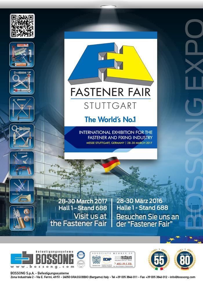 Bossong @ Fastener Fair Stuttgart 2017