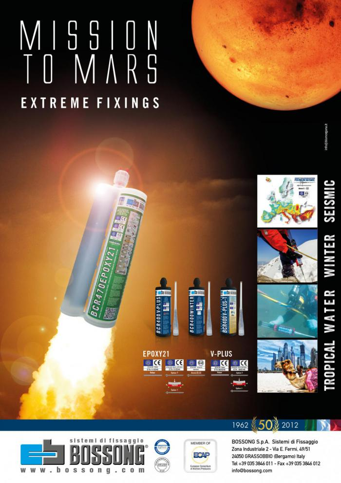 Mission to Mars Extreme Bossong fixings